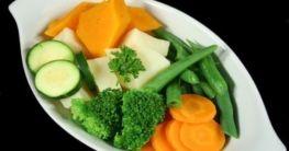 Gedünstetes Gemüse