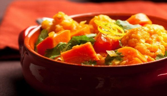 Vegetarisches indisches Curry