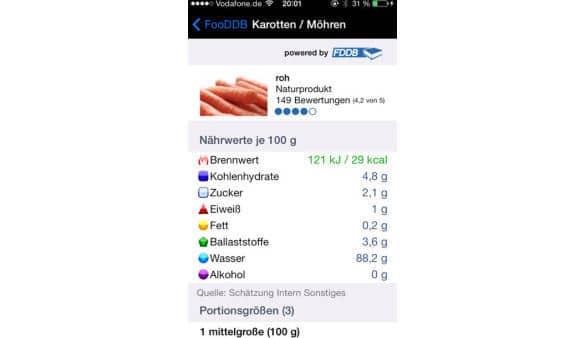 Food DB App