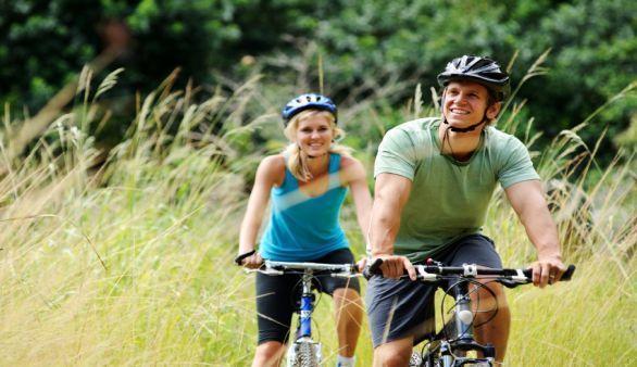 Mit Fahrradfahren abnehmen