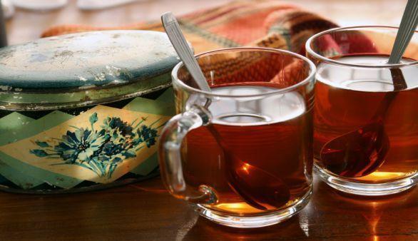 Natürliche Diät mit Rooibos Tee