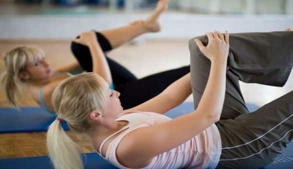 Pilates: Single Leg Circles - Beinmuskulatur stärken