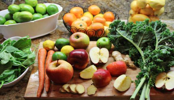 Tagesbeispiel für eine gesunde Mahlzeiten-Planung