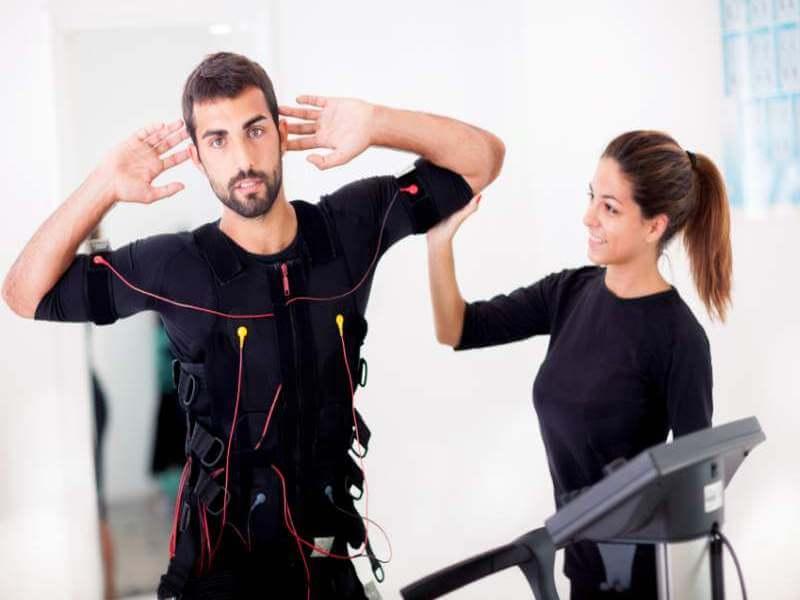 EMS: Abnehmen durch Muskelstimulation?