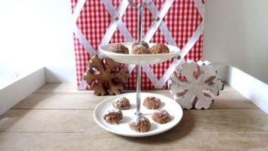 Weihnachts-Cookies à la low carb mit Chia